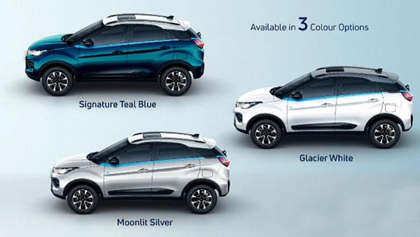 Tata Nexon EV Colours