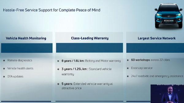 Tata Nexon EV Customer Convenience Offers