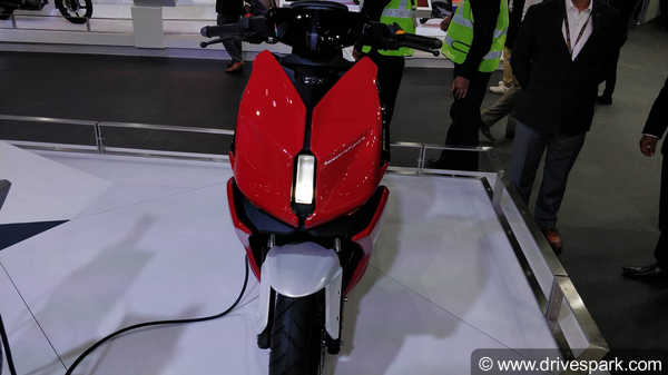 New TVS Electric Scooter