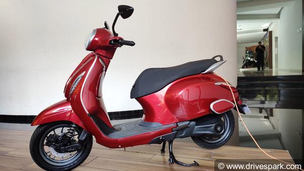 Bajaj Chetak Electric Scooter Range