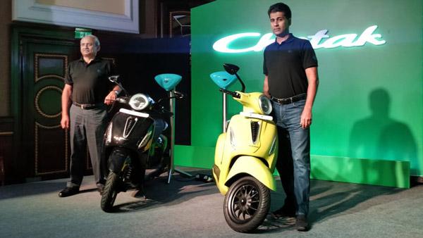 Bajaj Chetak Electric Scooter Availability