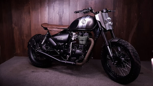 Royal Enfield Thunderbird X 500 Modified By Bulleteer Customs