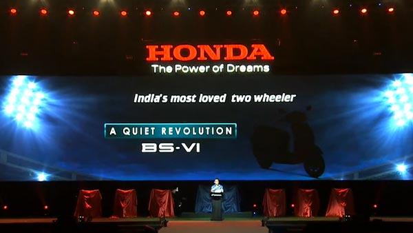 Honda Activa 6G Launch Live