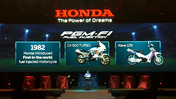 Honda's first Fuel-injection motorcycle