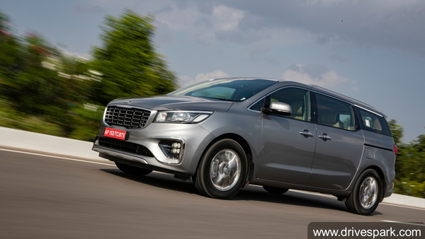 Kia Carnival Review (First Drive): Extravagant On Space, Feature-Loaded And BSVI-Compliant