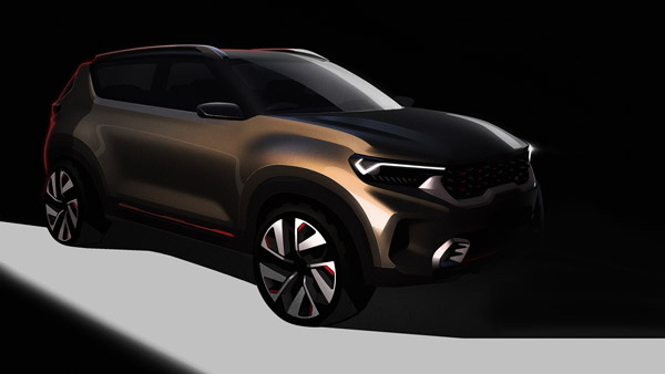 New Kia Compact-SUV Concept Design Sketches