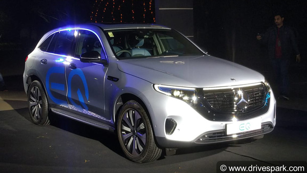 Mercedes-Benz EQ Brand Launched In India: Unveils Upcoming All-Electric EQC SUV As Well