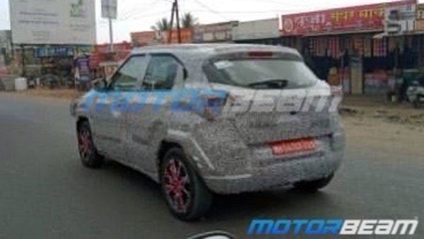 Tata H2X (Hornbill) Compact-SUV Spied Testing Yet Again In India: Spy Pics & Details