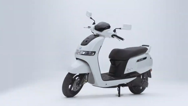 New TVS Electric Scooter Launch Highlights