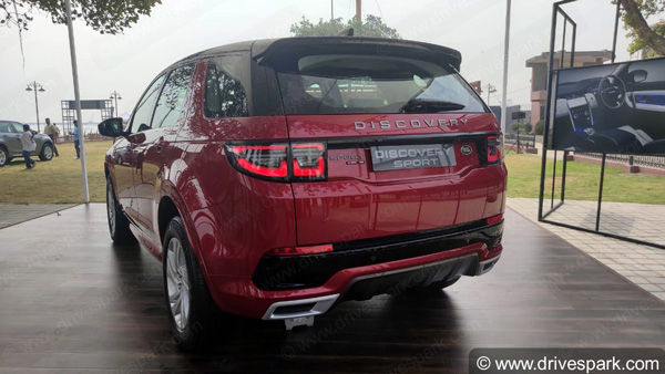 2020 Land Rover Discovery Sport Launched In India At Rs 57.06 Lakh: Specs, Features & Other Details