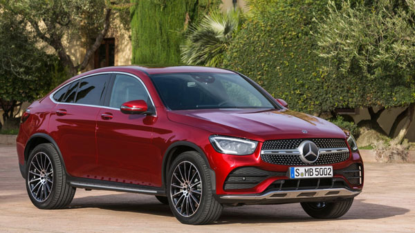 Mercedes-Benz GLC Coupe Facelift Models Launching In India On 3 March:  Details And Expected Prices - DriveSpark News