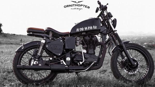 Royal Enfield Electra 350 Modified By Ornithopter Moto Design: Renamed KARGIL