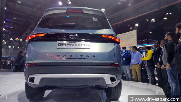 Auto Expo 2020: Tata Gravitas Unveiled - Expected Launch Date, Price, Key Specs, Features & Images