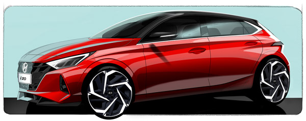 Next-Gen Hyundai i20 Teased