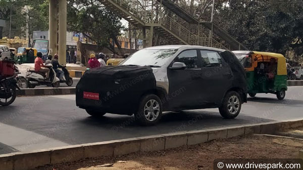 Spy Pics: Kia Sonet SUV Spied Testing Ahead Of Launch In India: Concept Version Showcased At Auto Expo 2020