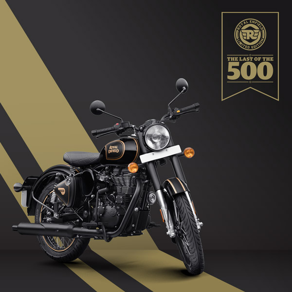 Royal Enfield Classic 500 Tribute Black Edition Revealed Ahead Of Launch: The Last Of The 499cc Engine