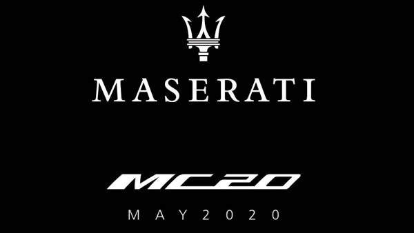 Maserati Announces 'MC20' As The Name Of Its Latest Upcoming Supercar: Successor To The Iconic MC12
