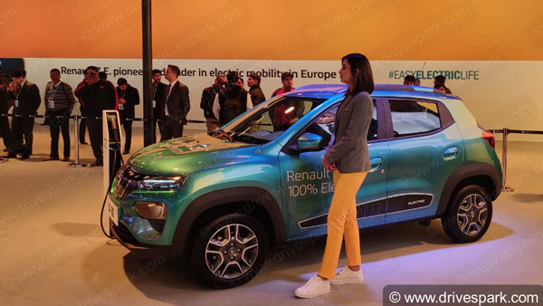 Electric Cars At Auto Expo 2020: Mahindra eKUV100, eXUV300, Renault K-ZE, MG Marvel X, Kia Soul EV & More