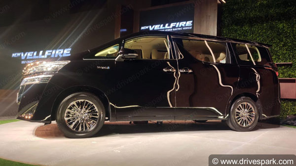 Toyota Vellfire Premium MPV Launched In India At Rs 79.50 Lakh: Bookings, Deliveries, Specs, Features & Other Details