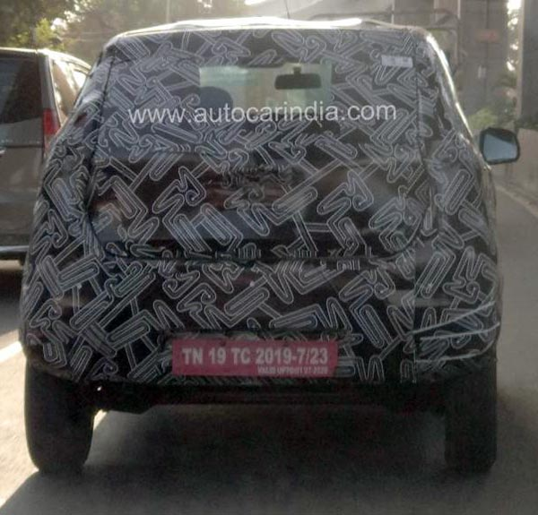 Datsun Redigo Facelift Spied Testing Ahead Of Launch: Spy Pics & Details