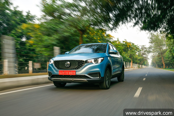 MG ZS EV Sales In India For February 2020: Company Registers 158 Units Of sales & 3000 Bookings For Electric SUV
