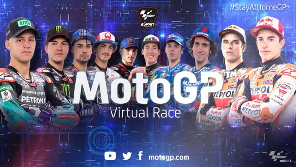 MotoGP 2020: Alex Marquez Wins First Ever #StayAtHomeGP Virtual Race Amid Covid-19 Pandemic