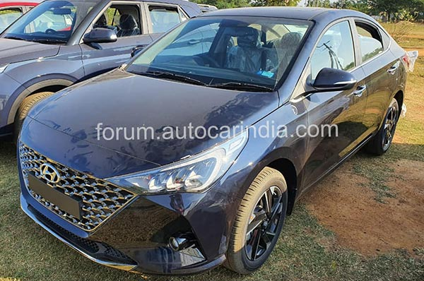 Spy Pics: Hyundai Verna Facelift Spotted Revealing New Exterior & Interior Changes