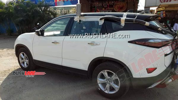 Spy Pics: Tata Harrier Petrol Variant Spied Testing Ahead Of Launch In India Soon