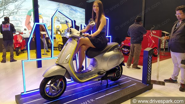 Exclusive: Vespa Elettrica Scooter To Arrive In India By June As CBU