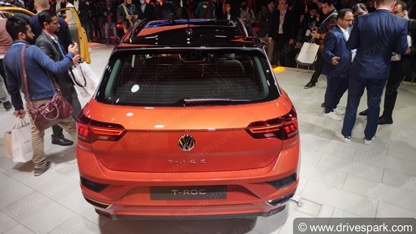 Volkswagen T-Roc India Launch Price Rs 19.99 Lakh: Specs, Features, Bookings, Delivery & Other Details