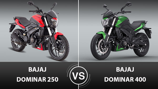 Bajaj Dominar 250 Vs Dominar 400 Differences: Comparison In Terms Of Specs, Features, Dimensions, Styling & Other Details