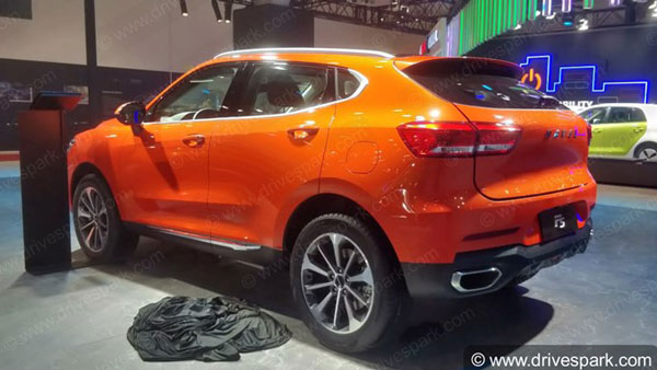 Spy Pics: GWM Haval F5 SUV Spied Ahead Of India Launch