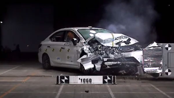 New Honda City Receives 5-Star ASEAN NCAP Safety Rating