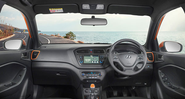 Hyundai elite i20 launched with Touchscreen infotainment system.