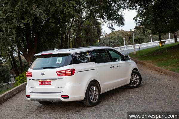 Kia Carnival Sales In India For February 2020: Registers 1620 Units Of Sales In First Month