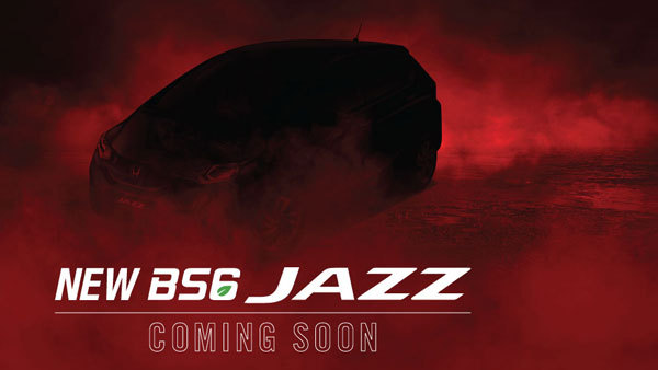Honda Jazz BS6 Teased Ahead Of India Launch: Will Rival Tata Altroz