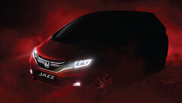 Honda Teases The BS6 Jazz Facelift Ahead Of Launch — Gets An LED Headlight Unit