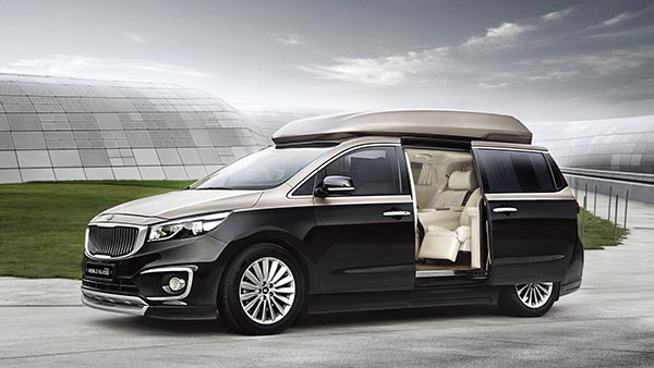 Kia Carnival Four Seat Configuration Model To Launch In India Next Year