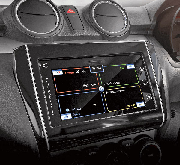 Maruti Suzuki Swift Gets An Updated Infotainment System — No Hike In Price!