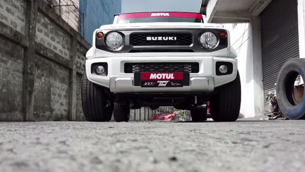 Suzuki Jimny Modified By Autoplus Produces 200 Horses Of Power