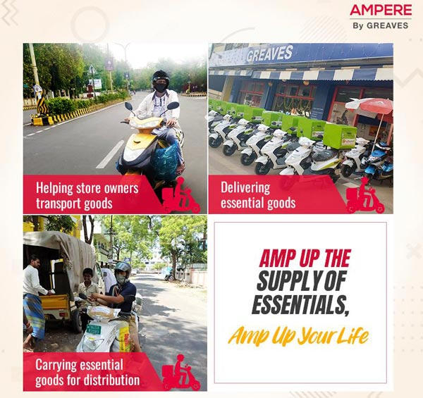 Ampere Electric Launches New 'Book Online Now Pay Later' Programme: Contactless Delivery Of Electric Scooters Once Market Opens