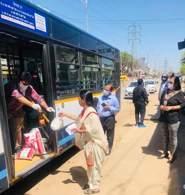 Gurugram Public Bus Fleet To Be Used For COVID-19 Sample Collection Amidst Pandemic