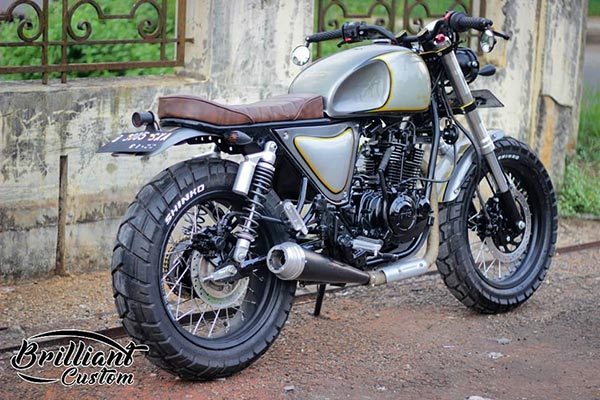 TVS Apache RTR 160 Modified By Indonesia Based Brilliant Custom Motorcycle