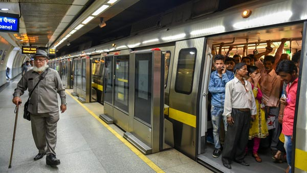 Delhi Metro Prepares For Resumption Of Operations: Sanitises Stations & Network Of Trains