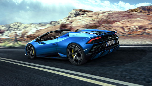 Lamborghini Huracan EVO Rear-Wheel Drive Spyder Launched Via Augmented Reality — An Industry First