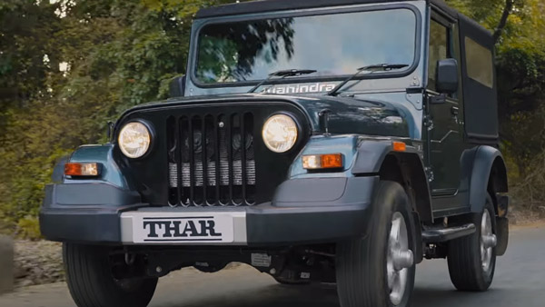 Spy Pics: New Mahindra Thar (2020) Spied In Production Ready Form Ahead Of India Launch Soon