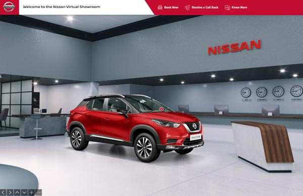 Nissan Introduces Virtual Showroom And Online Purchase Services For Customers
