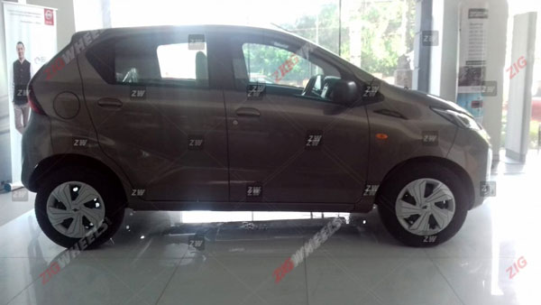 Datsun Redi-GO Facelift Arrives At Dealerships Ahead Of Its Launch