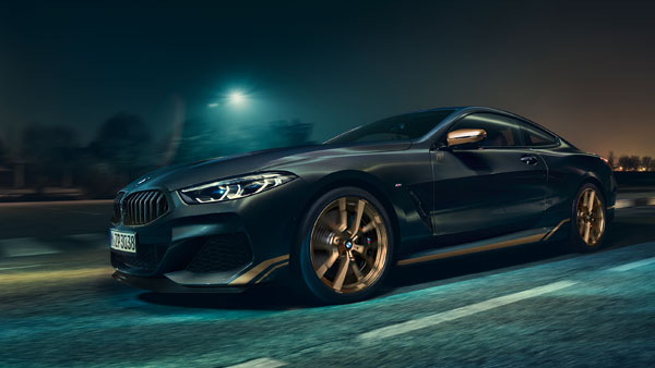 BMW 8 Series Edition Golden Thunder Unveiled: Launch Scheduled For September