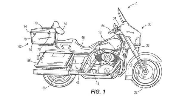 Harley-Davidson Files Patent For Self-Balancing System That Can Be Retro-Fitted To Any Harley Model